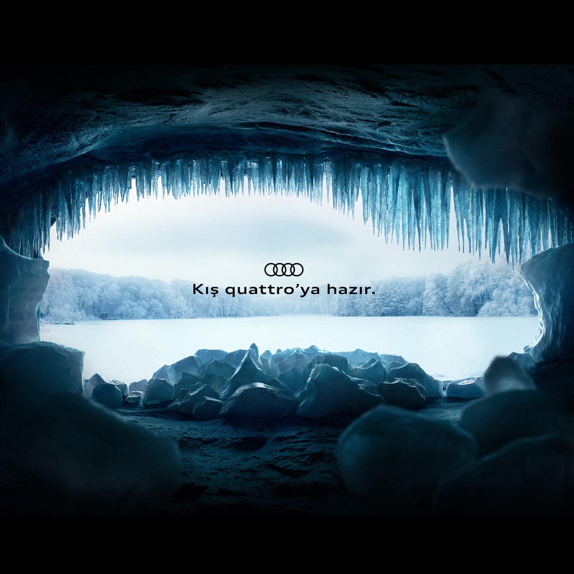 Audi - Kış quattro'ya hazır